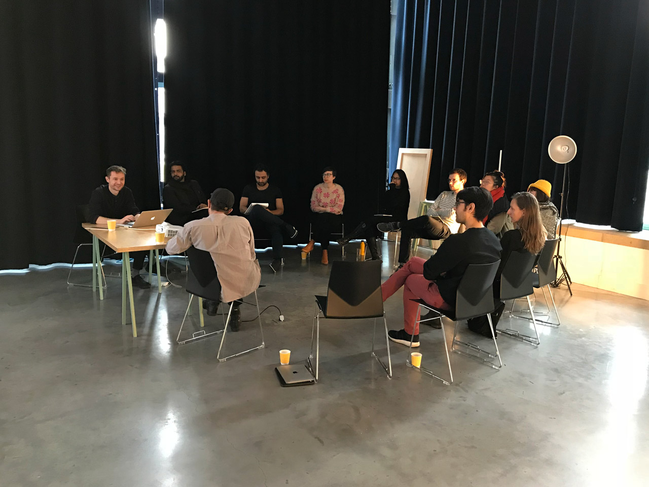 Deep Unlearning workshop at New Lab, December 2017